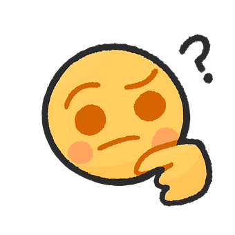 Thinking, Emoji, Cartoon, Chat, Question, Icon, What