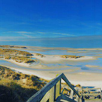 Amrum, Beach, Vacations, Relaxation, Nordfriesland