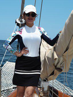 Sailor, Female Sailor, Asian Sailor, Model, Female