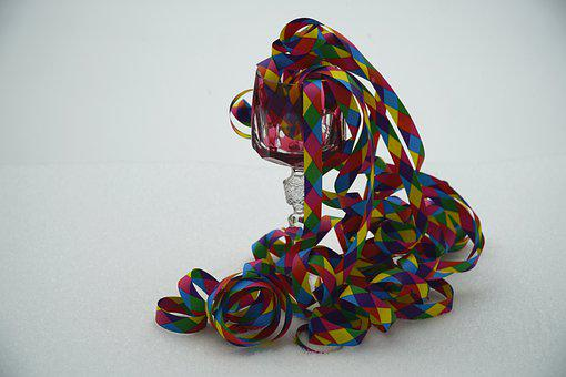 Streamers, Carnival, Party, Colorful, Streamer