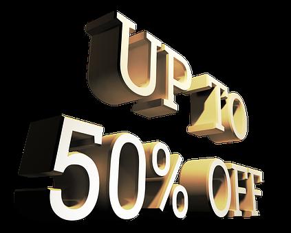 Sale, Discount, Promotion, Percent, Sign, Ecommerce