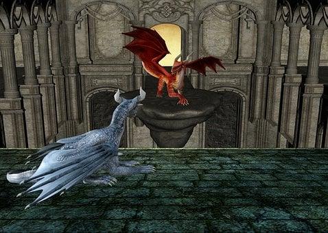 Dragon, Dragons, Fantasia, Monster, Fantasy, Magic