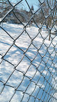 Fence, Mesh, Fencing, Wire, Barrier, Demarcation, Metal