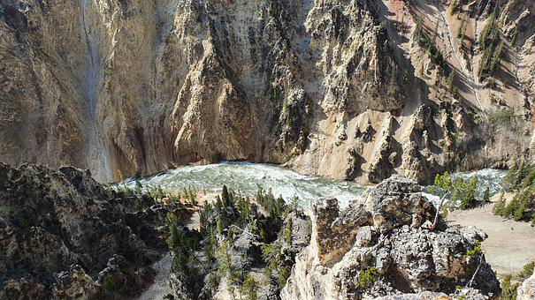 Grand Canyon Of Yellowstone, Yellowstone National Park