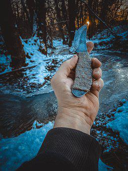 Knife, Nature, Meal, Green, Wood, Fresh, Kitchen