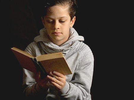 Read, Children, Homeschooling, Fairy Tales, Boy