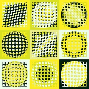 Ball, Sphere, Squares, Shapes, Holes, District