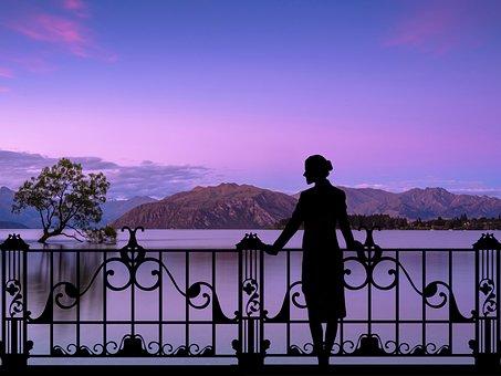 Romantic, Scene, Landscape, Atmosphere, Fantasy, Sky