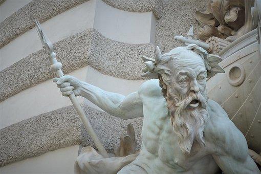 Statue, Hofburg Palace, Vienna, Sculpture, Travel