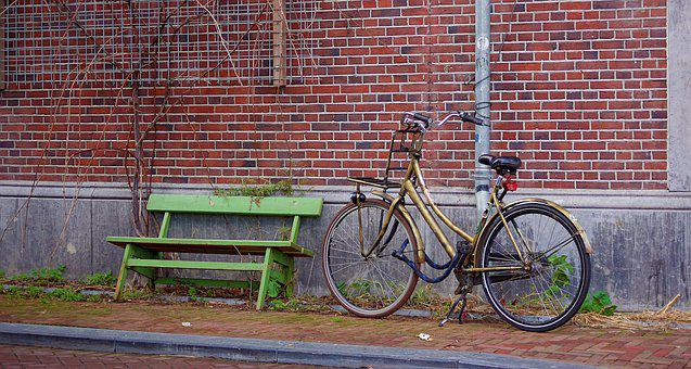 Bicycle, Street, City, Amsterdam