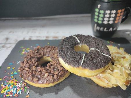 Doughnut, Coffee, Donut, Food, Donuts, Sweet, Dessert