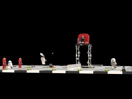 Star Wars, Lego, Minifigure, Stormtrooper, Tennis Game