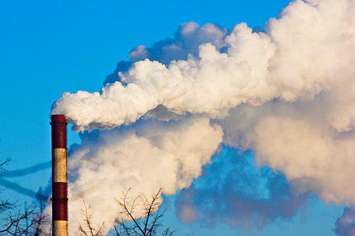 Thermal Power Plant, Smoke, Industry, Factory