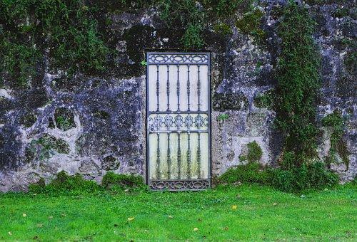 Door, Wall, Abandonment