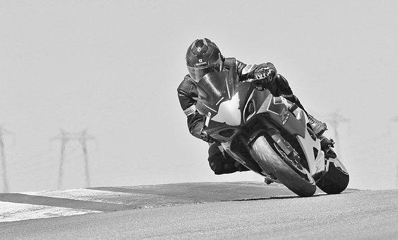 Motorcycle, Sport Bike, Riding, Race, Speed, Action