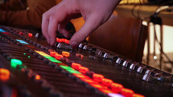 Mixer, Audio, Sound Studio, Music, Microphone, Sound