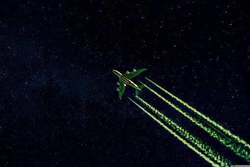 The Plane, Emirates, Night, Celebrities, Space, Flight