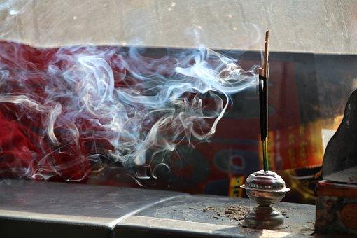 Incense, Smoke, Meditation, Fragrance, Ceremony