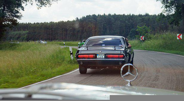 Car, Road, Vehicle, Classic, Rally, Mercedes Benz