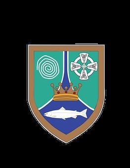 Meath, County, Coat Of Arms, Irish, Ireland, Leinster