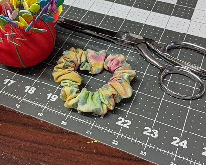Sewing, Scissors, Thread, Sew, Craft, Tailor, Fabric