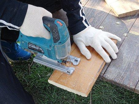 Diy, Saw, Wood, Cutting, Board, Renovation