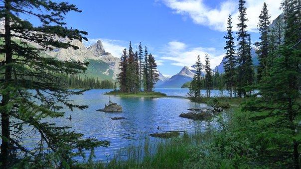 Spirit Island, Mountain Lake, Enchanted Island