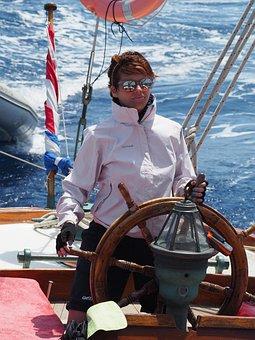 Female Sailor, Sailor, Classic Yacht, Female, Woman