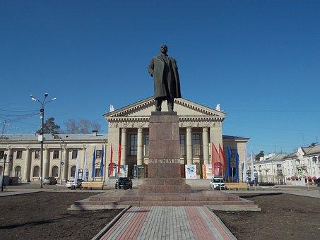 Monument, Lenin, Communism, History, Sculpture, Soviet