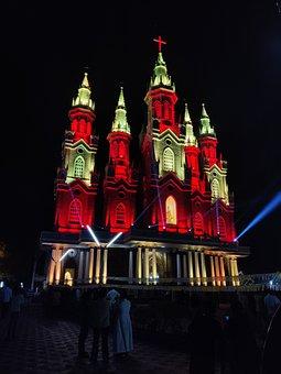 Christian, Church, Lights