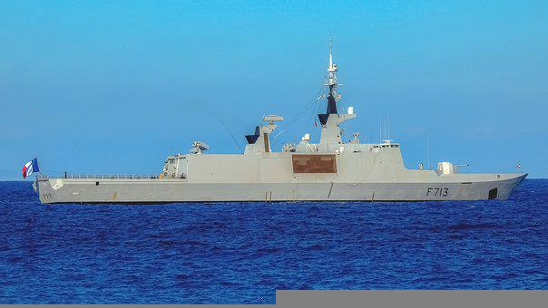 Warship, Boat, Battleship, Frigate, Navy, Sea, Military