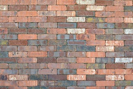 Brick, Wall, Background, Texture, Bricks, Pattern, Red