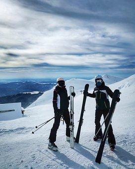 Mountain, Ski, Snow, Nature, Winter, Sport, Alpine