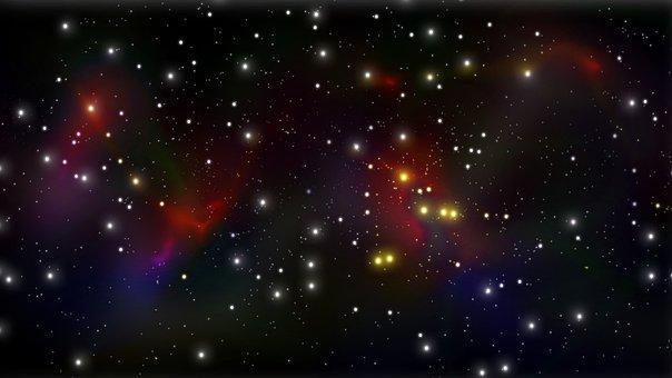 Stars, Starlight, Space, Sky, Glow, Starry