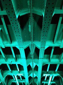 Railway Bridge, Bridge, Steel Structure, Cologne