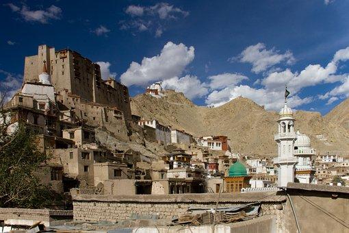 Ladakh, Leh, India, Kashmir, Mountains, Tourism