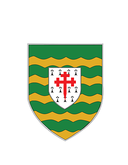 Donegal, County, Coat Of Arms, Irish, Ireland, Ulster
