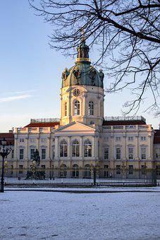Berlin, Schloss Charlottenburg, Germany, Winter