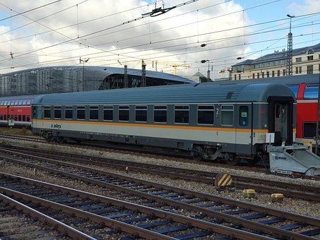 Railway Station, Bhf, Muc, Munich, Alex