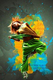 Woman, Dancer, Female, Dancing, Fitness, Performance