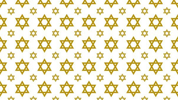 Digital Paper, Star Of David, Pattern
