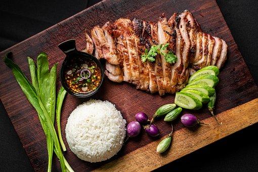 Thai Food, Meal, Food, Dish, Cuisine, Rice, Thai