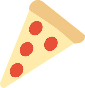 Pizza, Pepperoni, Cheese, Slice, Dough, Italian