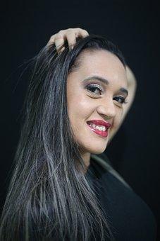 Makeup, Model, Beauty, Hair, Girl, Female, Beautiful