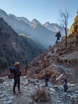 Trekking, Backpacking, Backpack, Hiking, Adventure