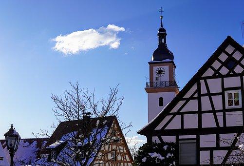 Swiss Francs, Truss, Winter Sun, Historic Center
