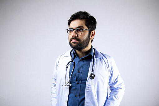 Doctor, Stethoscope, Man, Professional, Practitioner