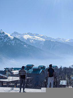 Himalayas, Himachal, Manali, India, Mountains