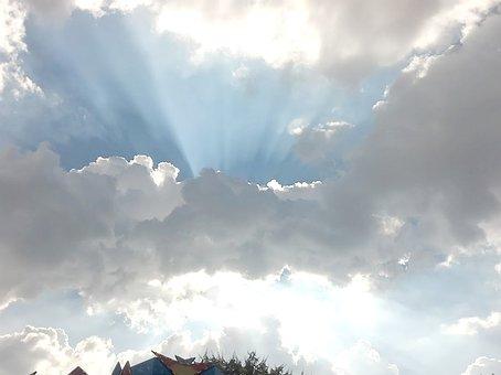 Mexico, Sky, Clouds, Blue, Landscape, Nature, Paradise