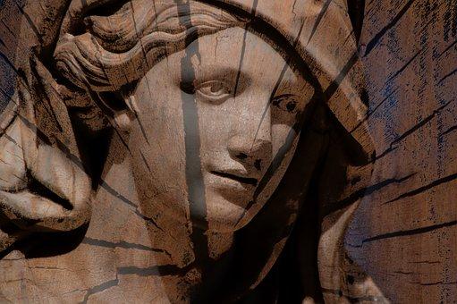 Statue, Garden, Sicily, Palermo
